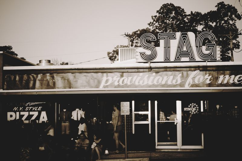 Stag store front