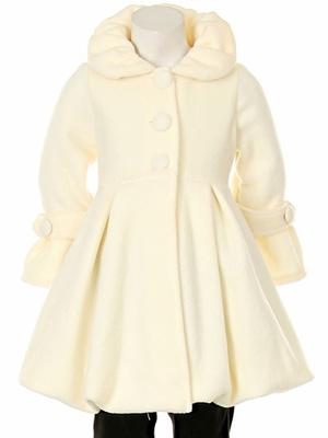 Ivory bubble coat