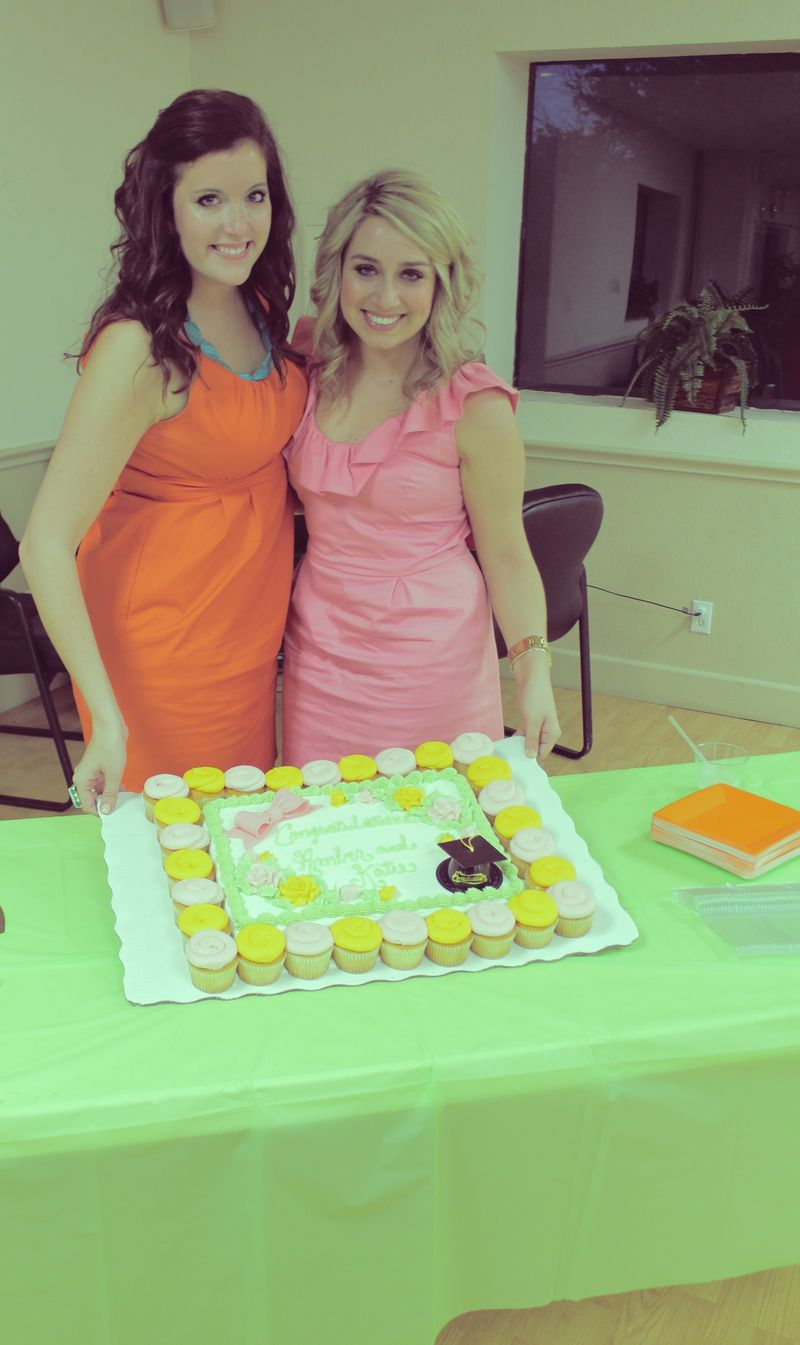 Katie and amber cake 1
