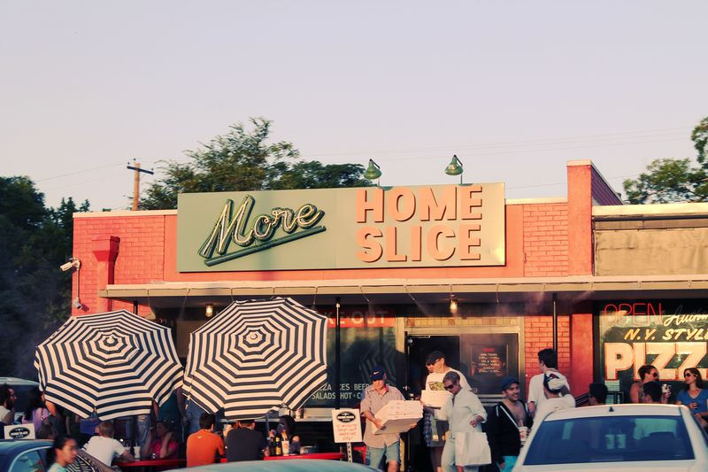 Home slice store front