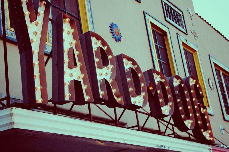 Yard dog large sign
