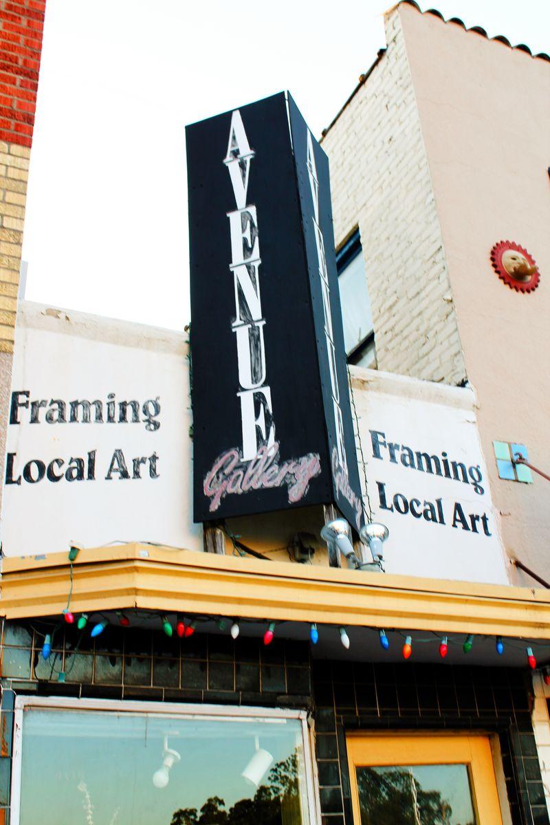 Framing local art