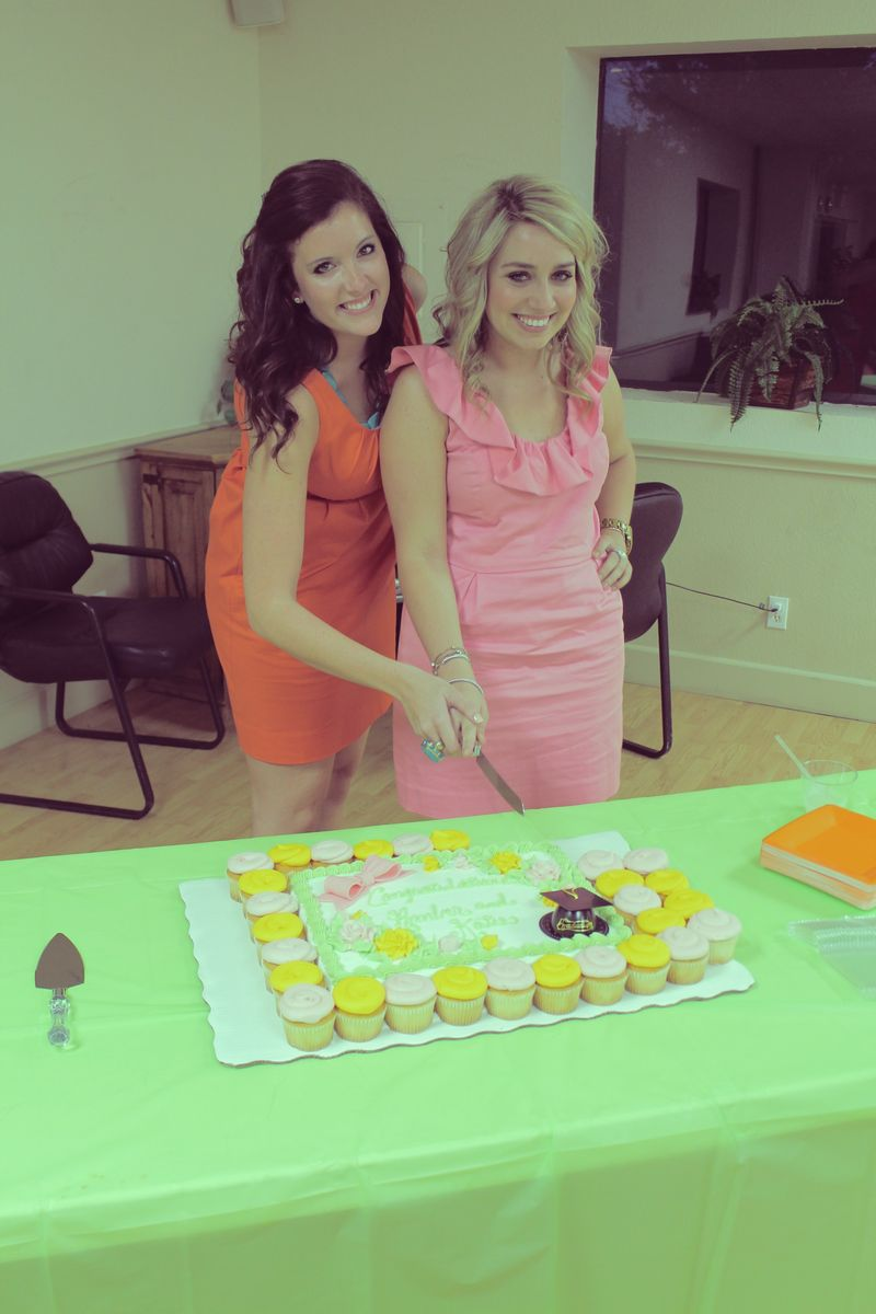Katie and amber cake 2