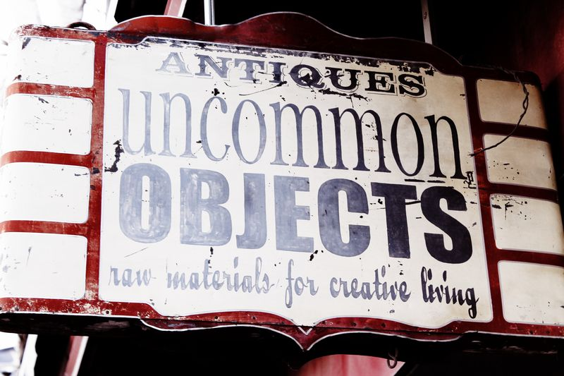 Umcommon sign