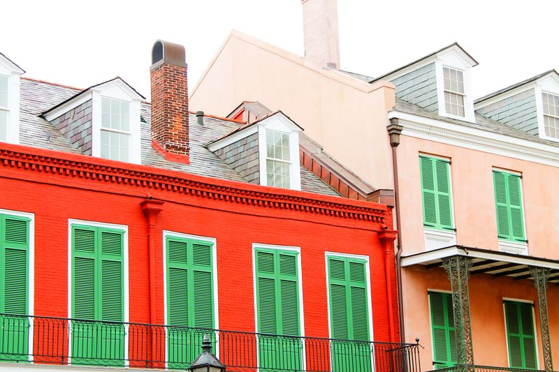 Red & pink house