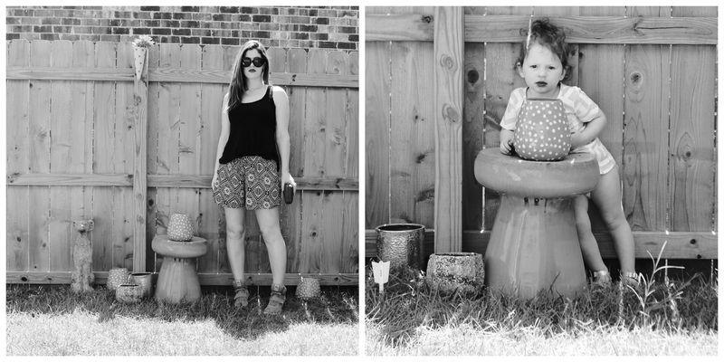 Backyard collage two