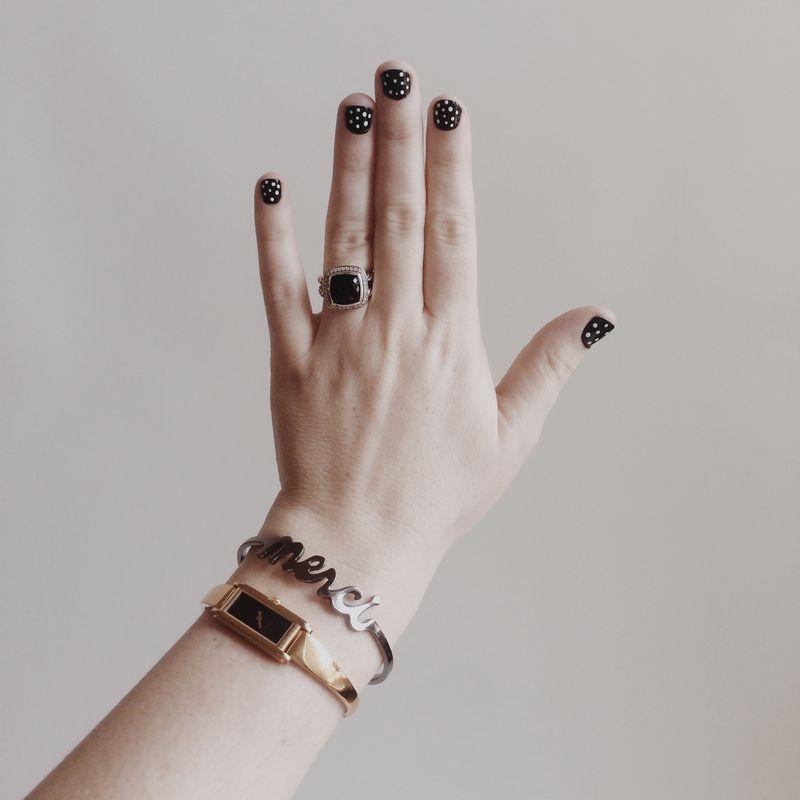 Polkadot nails 1